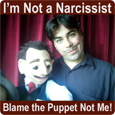 Image of dummy or narcissist?